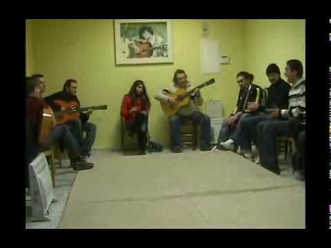 Academia Cañorroto El Entri. Bulerias y baile (Triana Cortes)