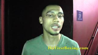 Frank Galarza After ShoBox Victory 5/16