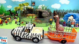 Zoo Wild Animals Toys Fun For Kids - Learn Animal Names