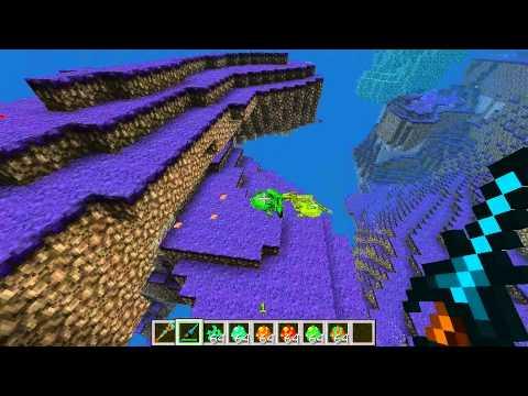 Dragões Guaxinim nova Dimensão em Mo, Creatures =O - Minecraft