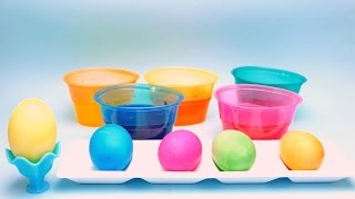 Coloring & Decorating Easter Eggs - Dye with Paas Colors - DIY