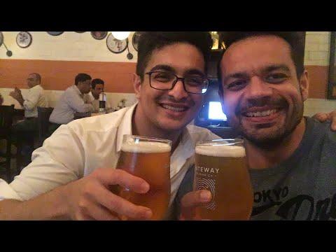 Beer challenge with BeerBiceps , Ranveer Allahbadia