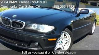 2004 BMW 3 series 330Ci convertible - for sale in San Mateo,