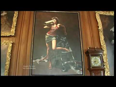 Anglia news princess diana earl spencer paintings althorp house youtube - Introir dijane ...