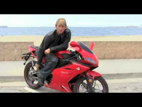 2010 Bennche Megelli 250R Motorcycle Review - UK-designed. Chinese-made. courtesy of Texas