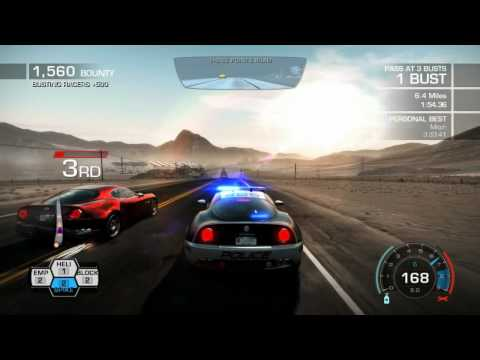 Police Take downs (NFS: Hot Pursuit)