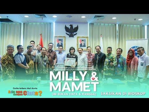 download lagu MILLY & MAMET (Ini Bukan Cinta & Rangga) - PPATK Menganugerahkan Sineas Anti Pencucian - Uang gratis