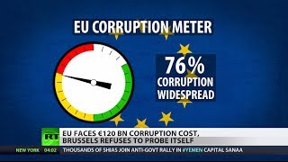 'Breathtaking': (Corruption) cost in EU equals its annual budget 2/4/14