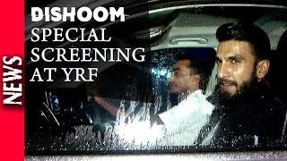 Latest Bollywood News - Special Screening Of Dishoom At YRF - Bollywood Gossip 2016