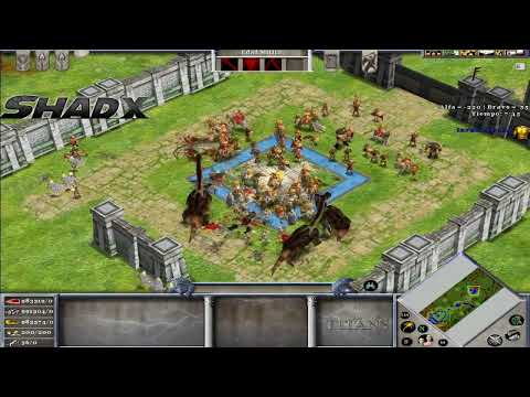 Age of Mythology: escenario -Invasión-