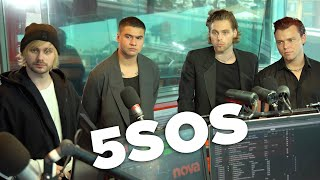 5SOS defend their accents and bum bags