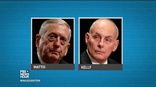 News Wrap: Senate confirms Mattis, Kelly