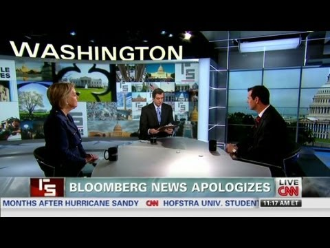 Bloomberg apologizes for snooping