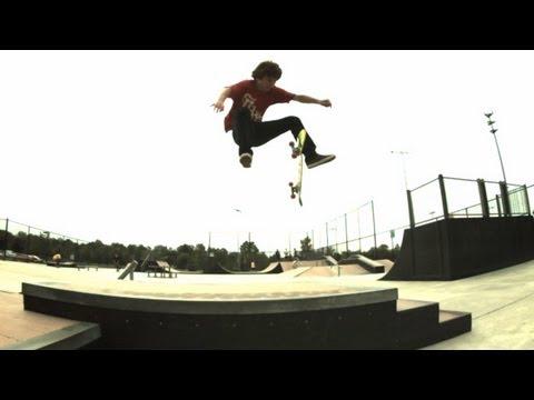 Zach Miyamoto 600fps slow mo skateboarding