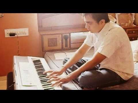 Do Pal Ruka Khwabon Ka Karwan....from  Veer Zara Instrumental On Keyboard.. video