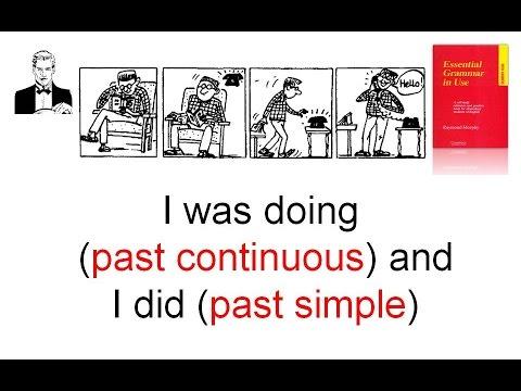 Время Past Continuous (прошлое длительное ) и Past Simple (прошлое простое)