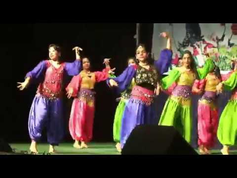 Hindi and English Fusion Dance
