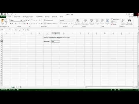 Hacer un grafico circular en Excel 2013