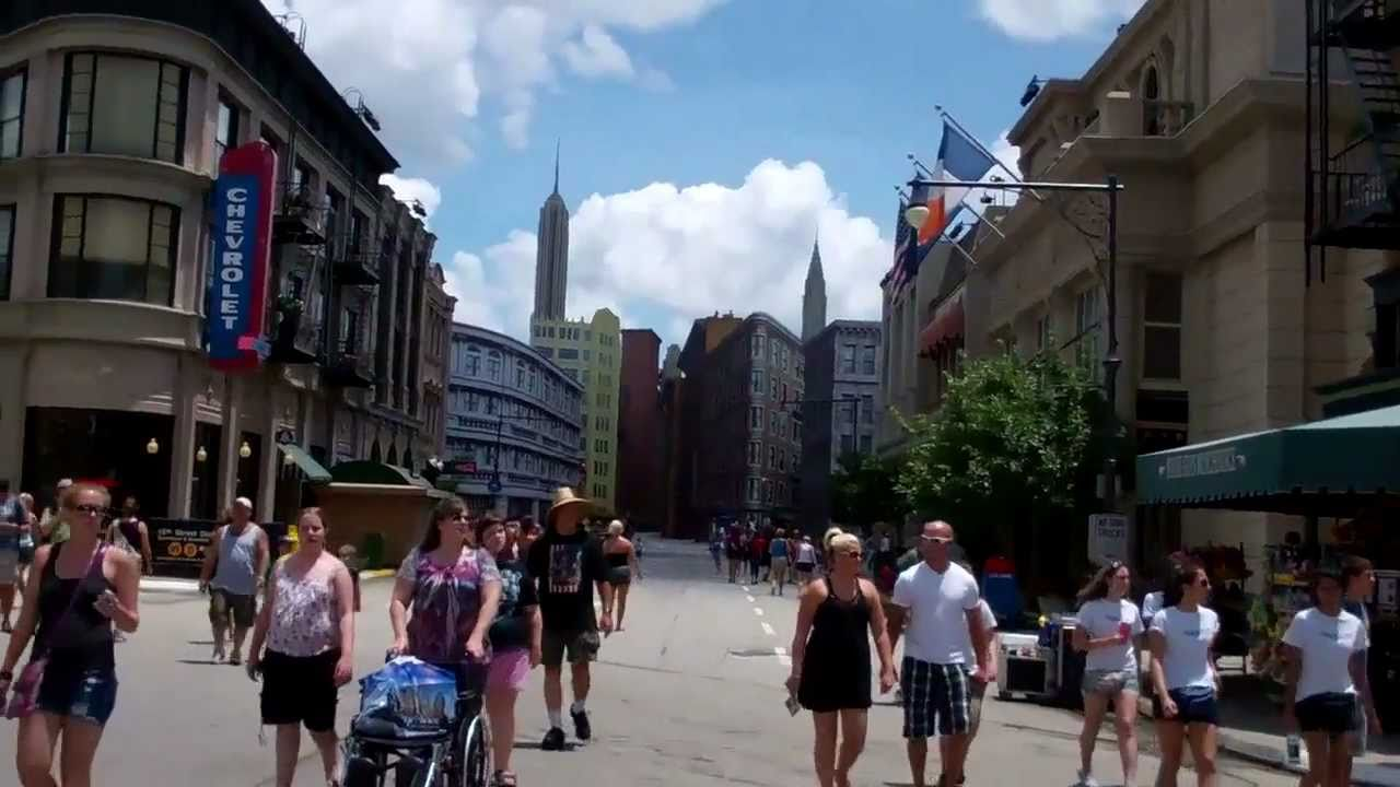 Streets of America Disney Hollywood Studios Streets of America at Disney's
