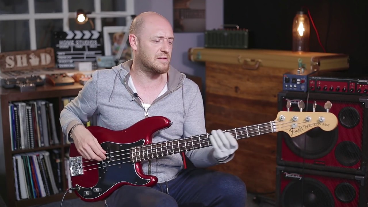 Top 10 bass players youtube