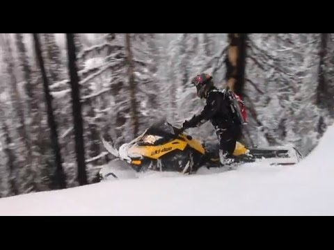 Ski-Doo U Tip: Planning Your Route in Deep Snow