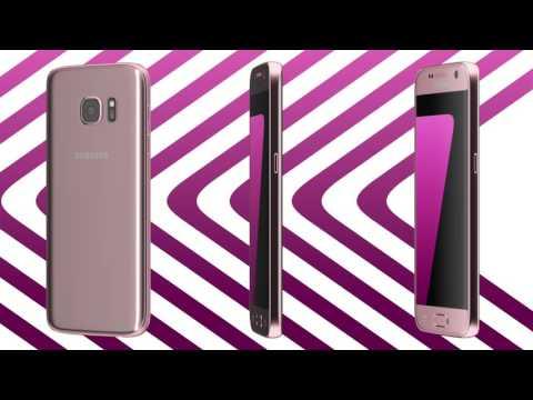 Pink-gold: Samsung Galaxy S7 und Galaxy S7 edge
