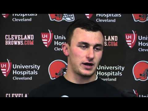 Browns' Johnny Manziel says he is ready to step in against Colts if called upon