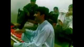 pashto song of asif javid in wedding programme.
