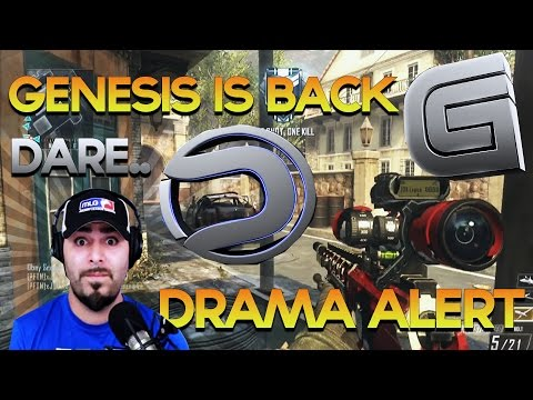 Genesis is Back, Drama Alert Terminated AGAIN, Dare Ends? Amazon buys Twitch.tv - Obey Scarce: