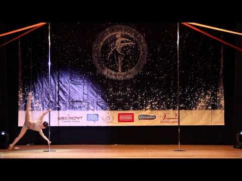 Olga Kutyavina, Indigo Dance Studio, Siberian Pole Sport Championship Elite, 2015