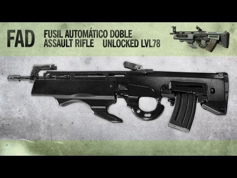 FAD : MW3 Weapon Guide, Gameplay & Gun Review