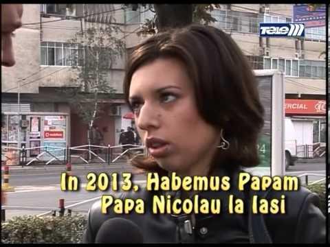 Si romanii au un papa, Papa Nicolau !
