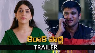 Kirrak Party Trailer | Nikhil | Samyuktha | Simran Pareenja | AK Entertainments
