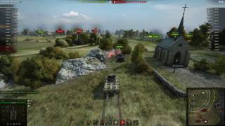 World Of Tanks - t67, 9 kills, 1 vs 5 , Kolobanov, Radley, Fadin
