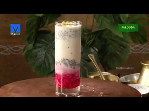 Falooda Recipe (ఫలూధా) - How to Make Falooda - Teluguruchi - Cooking Videos,Cooking Tips