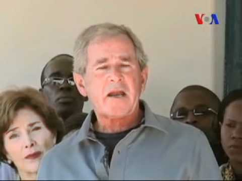 George W. Bush Fights AIDS in Africa - Muhammad Atif - Urdu VOA