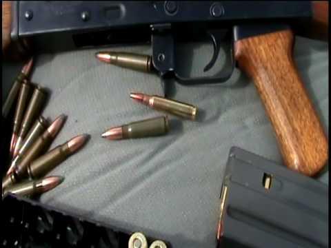 AK47 R15 45 Cuerno de Chivo, Bushmaster y Ruger P345D juntos Video