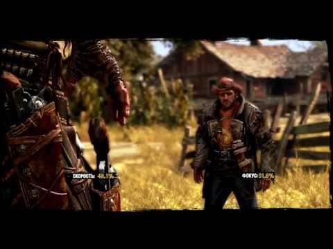 Охрененная дуэль в игре Call of Juarez Gunslinger