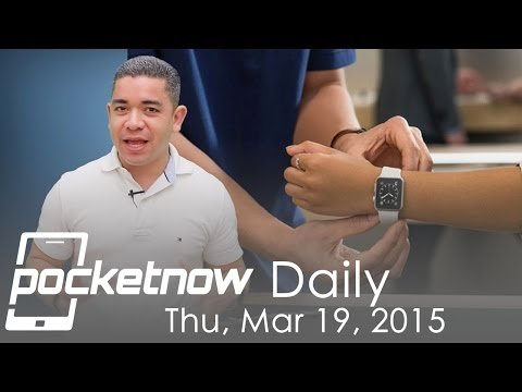 Apple Watch store plan, LG Nexus, Pebble strategy & more - Pocketnow Daily