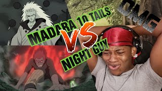 (reaction)  Madara VS Might Guy (8th Inner Gates) | NARUTO SHIPPUDEN