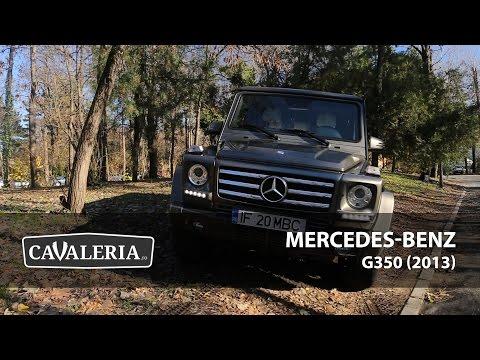 Mercedes-Benz G350 (2013) - Cavaleria.ro
