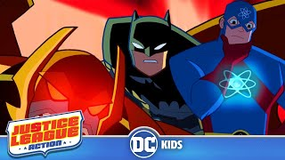 Justice League Action | Up And Atom! | DC Kids