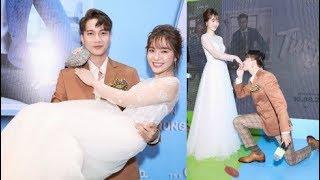 S.T bồng bế, hôn tay Jang Mi cực tình cảm giữa chốn đông người