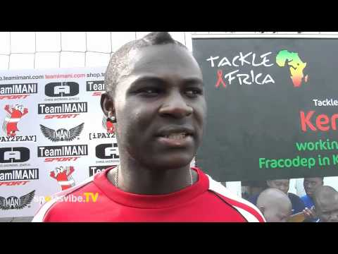 Emmanuel Frimpong talks Arsenal, DENCH and Tackle Africa - Sportsvibe TV