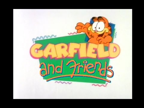 Garfield and Friends Opening and Closing Credits and Theme Song