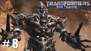 Transformers: The Game - Xbox 360 / Ps3 Gameplay Playthrough Decepticon Campaign PART 8