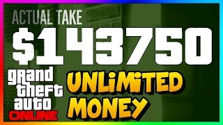 GTA 5 Online: INSANE UNLIMITED MONEY METHOD! Fast Easy Money & RP Not Glitch PS3/PS4/Xbox/PC 1.32