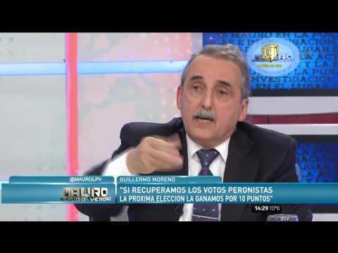 Guillermo Moreno: Los varones peronistas vamos a defender a Cristina