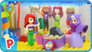 ♥ LEGO Ariel Buys SUPERHERO COSTUME to Save the Underwater Kingdom