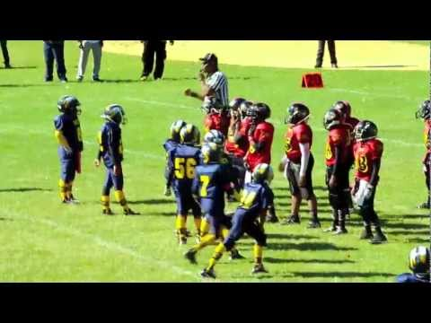 GMYFL 2012 GOTW week# 7 DH Chiefs VS Accokeek Ravens.